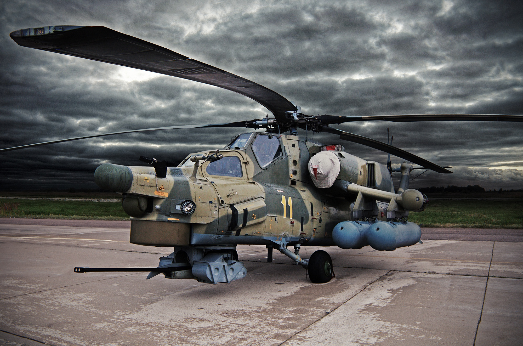 Helicopters Mi 28N Russian 540890 2000x1323